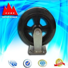 supply rubber wheel castors 1 inch castor wheel made in China