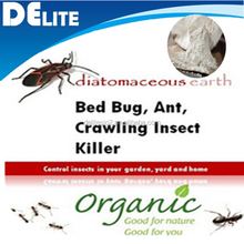 DElite Organic 300G/Bottle Food Grade Celatom Celite Diatomaceous Earth Powder Pesticides For Mites, Ants Killer