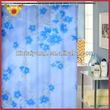 disponible el patrón de flor de cuarto de baño modas de impresión de fotos de cortinas