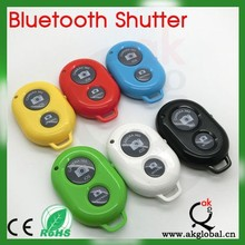 Wireless Bluetooth Remote Control Camera Self-Timer Shutter for Android and IOS Apple Cell Phone
