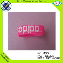 new high quality bracelets | Customized silicone wristband1inch