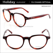 Classical style new color eyewear fit women high quality red plastic eyeglasses