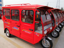 60voltage three wheel steering enclose electric tricycle