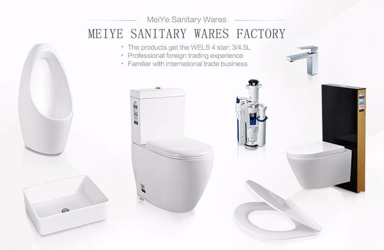 Terug naar muur wc p s val ronde wc pan voor inbouwreservoir of staande doorspoelen stortbak - Muur wc ...