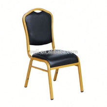 crystal clear wedding chair gold frame+red fabric dining chair