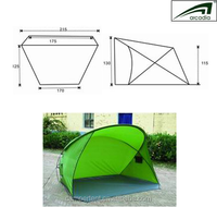 high quality factory sale pop up fishing tent