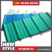 Fireproof material of construction pvc roof tile