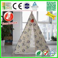 Eco friendly wood cotton canvas tipi tents for sale, teepee tent