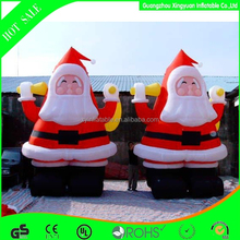 2015 Giant Santa Claus Cartoon For Advertising