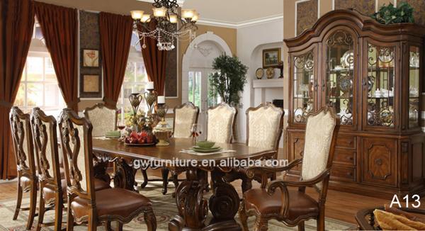 style italien classique meubles de salle manger ensembles a13 lots de salle manger id de. Black Bedroom Furniture Sets. Home Design Ideas