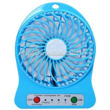 hot Newest Hot Selling Protable USB Fan with Strong Wind usb min Desk Fan,rechargeable fan with battery