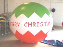 Christmas decoration 2mD inflatable PVC air Christmas globe