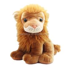 kingly sitting lion stuffed plush lion toy