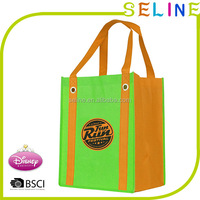foldable non woven bags promotional/cheap printed shopping pp non woven bags