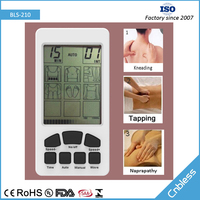 Ce Rohs Tens Digital Therapy Massager Machine