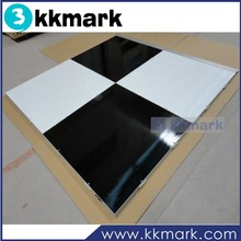 Black and White Dance floor for wedding party