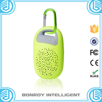 Mini portable colorful wireless bluetooth speaker and alarm clock function