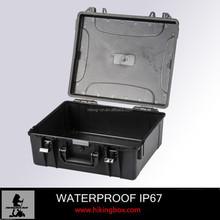 Plastic storage container for equipment /plastic case 460*420*180mm
