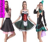 2015 Walson Bestdress Ladies Beer Maid Wench German Heidi Oktoberfest Gretchen Costume Outfit