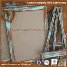 Oem usine personnaliser tableau gratuit permanent et pliage en bois Chalk conseil pour Chef menu, De haute qualité en bois Chalk conseil