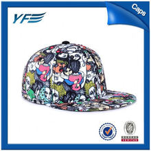 Oem Acrylic Fitted Flat Snapback Cap And Hat