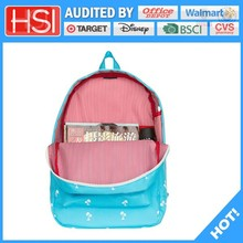audited factory wholesale price plain stocklot knapsack