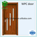 Materiales WPC impermeable puerta del aseo / bathroom door como mdf puerta de la piel