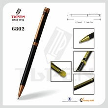 Logo Pen Promotional Pen Type and Metal Material Thin Twist Pen 6802