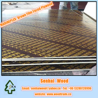 Marine Plywood with Melamine Glue for Waterproof Shuttering Plywood