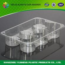 Non-slip disposable PET long plastic tray