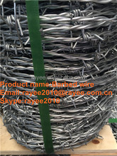 Double Strand 4 Points Razor Type And Galvanized Surface Treatment Barbed Wire Burglar