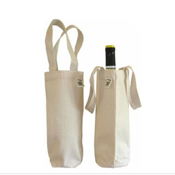 2015 china cheap promotional wine bottle tote carry bag wine bag