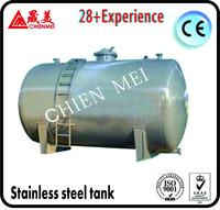 SS304 Sanitary Stainless Steel Vertical Cooling Milk Storage Tank