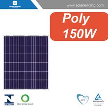 Factory directly 12V 150w solar panel for solar led light system