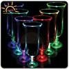 High quality Light Up Hurricane Glasses/Flashing light glass/LED bar use glass