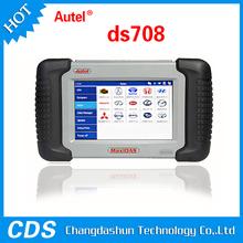 100% original de Autel MaxiDAS DS708 lector de código OBD2 escáner de diagnóstico multi idioma