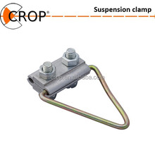 "Suspension clamp ZP-8-2 /Low voltage ABC,Insulated with messenger wire,""type 8"""