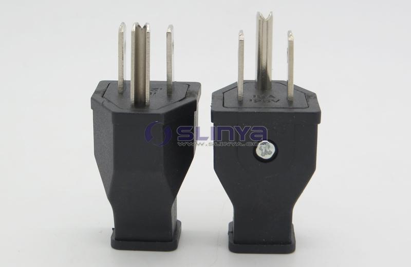 15a 125v American Wiring Plug Wiring Plugs America Usa U S  Plug U S  Standard Plug