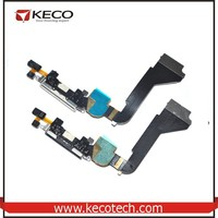 Mobile phone spare parts USB Charging Dock Port Connector Flex Data Cable For iPhone 4