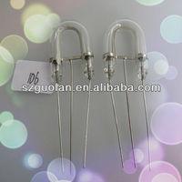 GL-HE-4425 h=32 d=6 a=10 c=40mm Horseshoe Xenon Flash Lamp For Professional Studio Strobe Replacement Light Bulb Tube