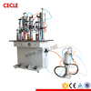 factory semi automatic aerosol gas filling machine