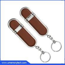Leather USB flash drive 16gb engraving logo,16gb black leather usb flash drive