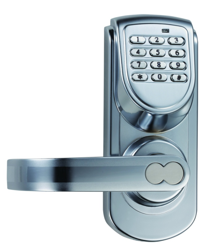 digital keypad lock. Black Bedroom Furniture Sets. Home Design Ideas