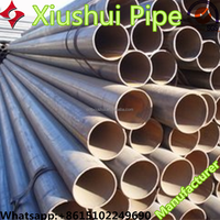 High-frequencym manufacturer erw Welded carbon steel seamless pipe 3/4 inch Black steel pipe