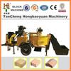 cement hollow block machine selling from Arica ,road construction equipments concrete blocks,brick making machine price