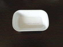 smooth wall airline used in airline disposable coated aluminum foil food tray