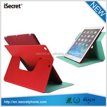 360 Degree Rotating PU Leather Swivel Case for ipad mini