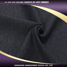 Hot sale polyester viscos black snowflake twill italian wool suit fabric