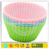 red floral blue square muffin case baking paper cup