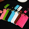 High quality leather case for iphone 5 cell phone case with card slot and string for iphone 5S
